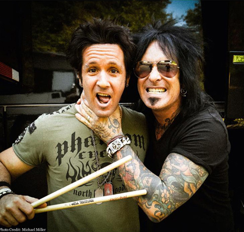 Nikki Sixx and Glen